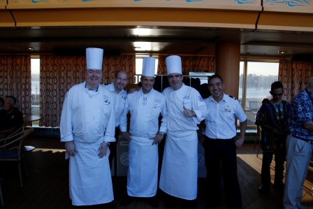 Our chefs and Culinary Operations Manager