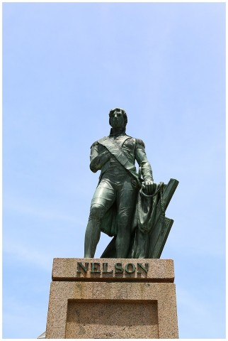 Admiral Lord Nelson statue