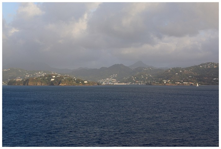 Castries entrance from seaward.