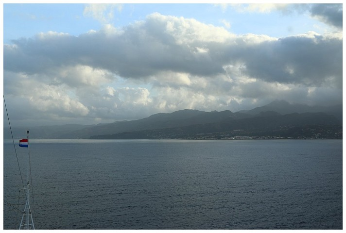 Dominica in the early morning
