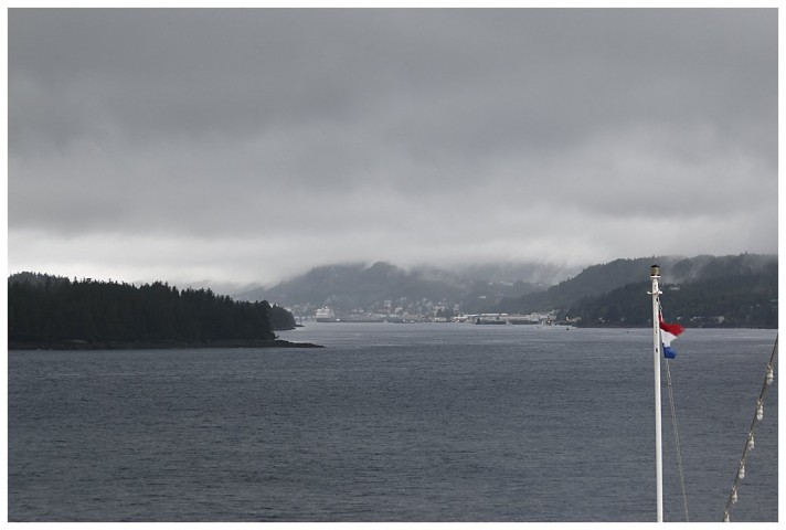 Tongass Narrows and Ketchikan beckons ahead of us.