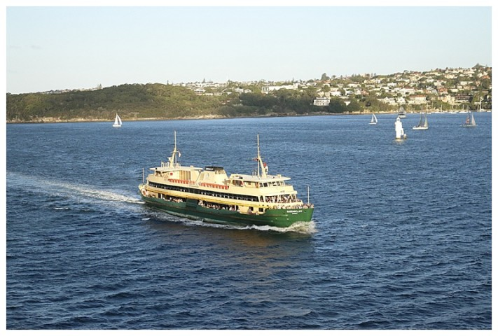 One of the numerous Sydney ferries