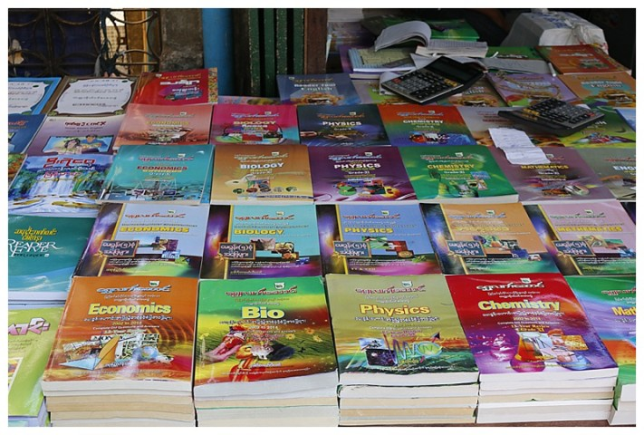 Buy your school books from a stall