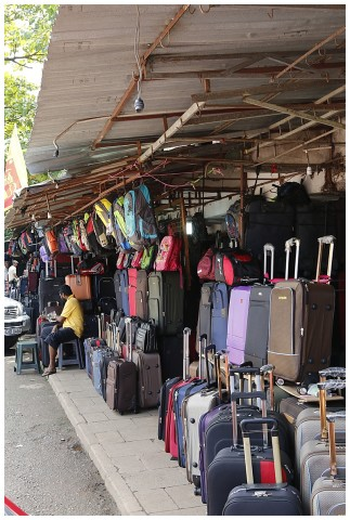 Want a suitcase?  Plenty of choices here.