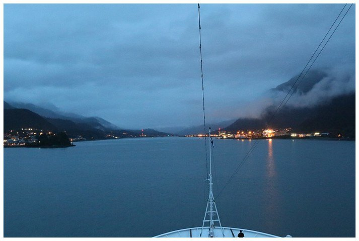 Up the Gastineau Channel, Juneau aahead
