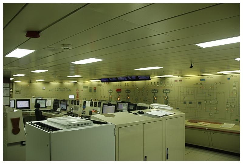 The Engine Control room