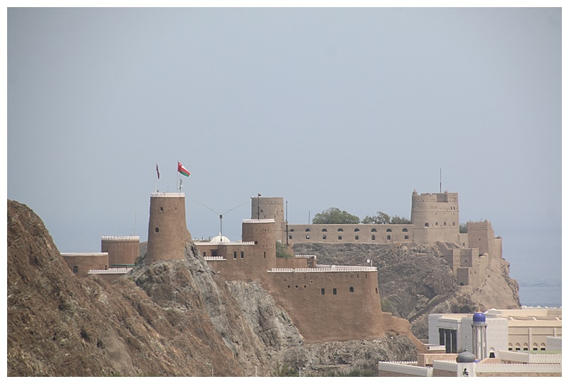...and the fort which overlooks it. Al Jelali