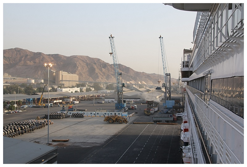 On a General Cargo berth, although a new Cruise terminal is planned