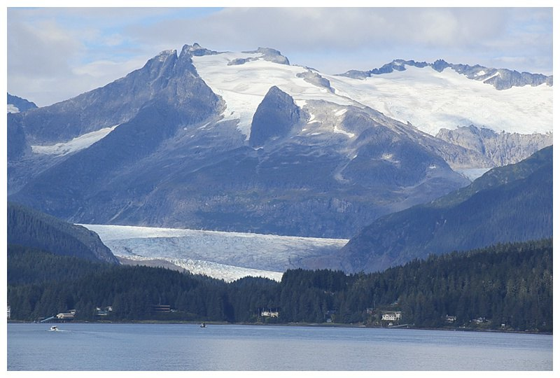 The Juneau ice-field with Mildenhall glacier foreground.l
