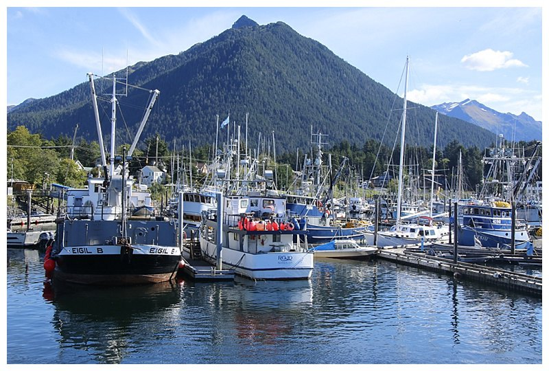 Crescent Harbour, Sitka and the fishing fleet